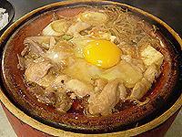 鳥徳 鳥鍋(卵入り)