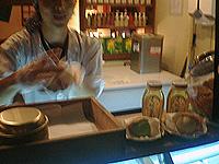 松治郎の舗 蜂蜜最中アイス 抹茶