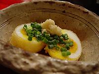 マルガメ製麺所 揚げ半熟玉子
