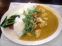 海南鶏飯食堂 印度カレー