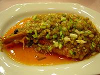 梅龍鎮酒家 大きな海老の干焼明蝦
