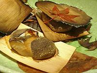 心音 鰆の杉板焼