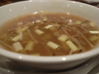 LO HO TOI 貝柱と黄韮のスープ