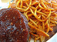 カフェテラス ポンヌフ ハンバーグスパゲティ