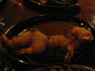 Buddha bar 一番美味しい海老のカレーソース