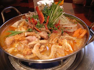 ハン・ア・リ ホルモン鍋