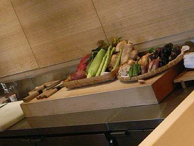 てんぷら近藤 野菜たち