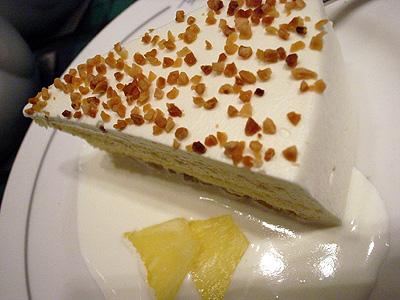 PAPER MOON パイナップルのショートケーキ