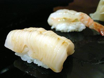 金寿司 帆立