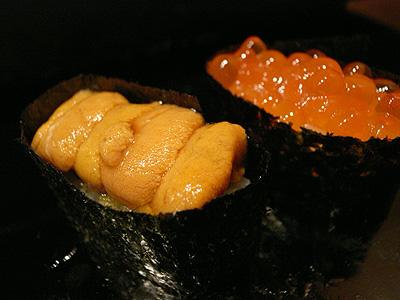 金寿司 いくら 雲丹