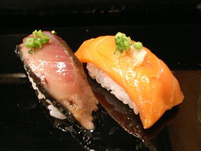 金寿司 サーモン