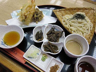 田丸屋 三楽御膳の二色汁