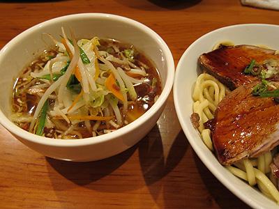 中華そば すずらん チャーシュー醤油つけ麺