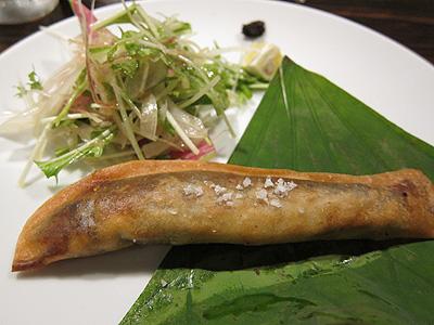 チャイニーズレストラン わさ (Chinese restaurant WASA) 天然鮎の春巻き