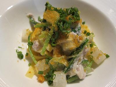 リストランテ モデスト (RISTORANTE MODESTO) 真鯛の白子とカラスミのフェットチーネ