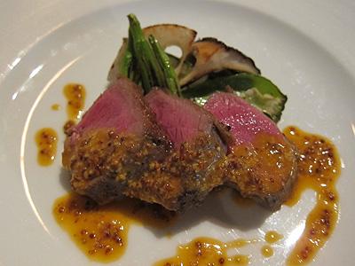 リストランテ モデスト (RISTORANTE MODESTO) 蝦夷鹿のロース肉のロースト