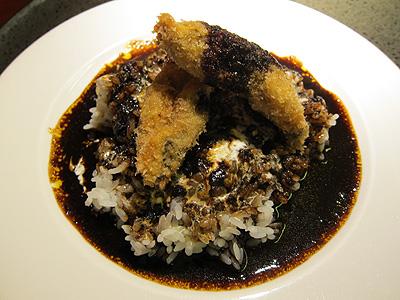 銀座 楸 (ぎんざ ひさぎ) 牡蠣フライのせカレー