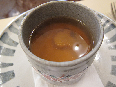 明治の館 松茸のロワイヤル