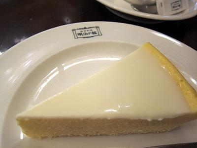 明治の館 チーズケーキ