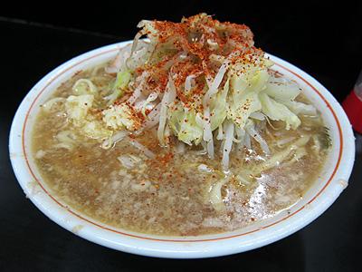 ラーメン二郎 鶴見店 (らーめんじろう) 小ブタ
