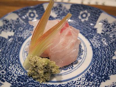 竹波 (たけなみ) 鯛のこぶじめ