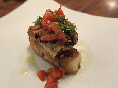 TRATTORIA NAKATA (トラットリア・ナカタ) 真鱈とタラ白子のムニエル焦がしバターソース