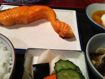 太郎坊 (たろうぼう) 鮭定食