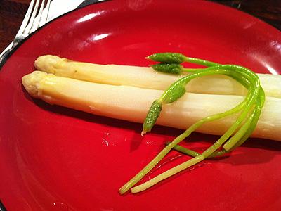 レストラン吾妻 (アヅマ) ホワイトアスパラ