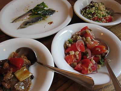 シチリア料理 ピスカリア (Piscaria) 前菜