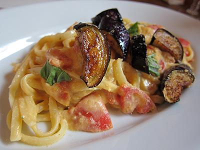 シチリア料理 ピスカリア (Piscaria) トラパニ風リングイネ