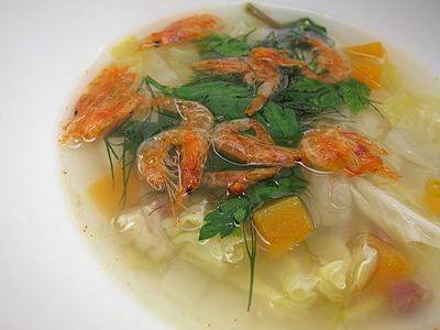 ガーデンレストラン 野菜のブイヨンスープ
