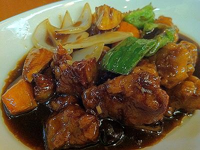 彩雲瑞 (サイウンスイ) 黒酢の酢豚