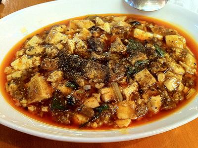 彩雲瑞 (サイウンスイ) 麻婆豆腐