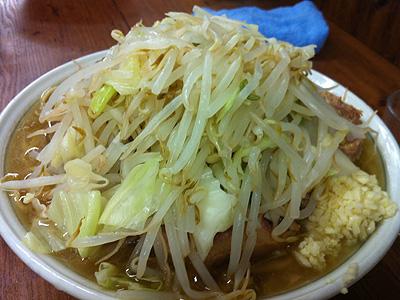 ラーメン二郎 品川店 (らーめんじろう) 大ダブル野菜ニンニク