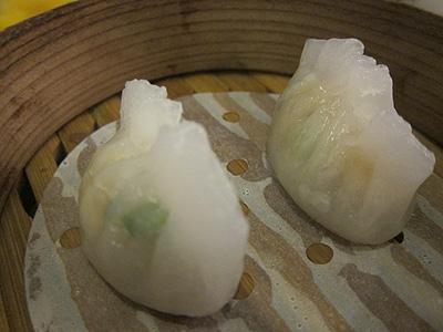 菜香新館 (サイコウシンカン) 貝柱入り蒸しぎょうざ