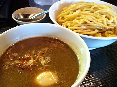 麺屋 和利道 (わりと) つけ麺 極太ちぢれ麺