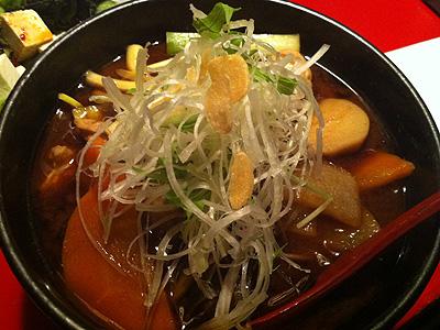 マルガメ製麺所 味噌けんちん